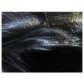 Dior-Dior p thigh boots 36-Black