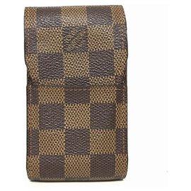 Louis Vuitton-Louis Vuitton Étui à cigarettes-Brown