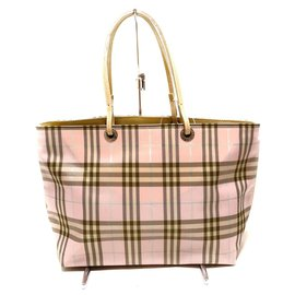 Burberry-Burberry tote bag-Pink