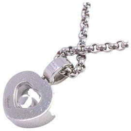 Chopard-Chopard Happy Diamond Necklace-Silvery