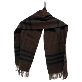 Burberry-Burberry scarf-Brown