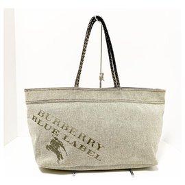 Burberry-Burberry tote bag-Grey