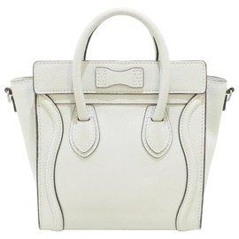 Céline-Céline Luggage-Cream