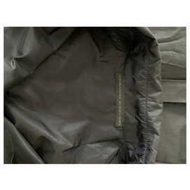 Ermanno Scervino-Dark blu silk taffetà trench coat-Dark blue