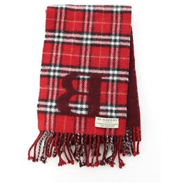 Burberry-Burberry scarf-Red