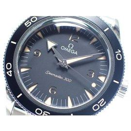 Omega-OMEGA SEA MASTER300 Co-Axial Master Chrono meter 41 MM Genuine goods Mens-Black