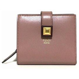 Fendi-Fendi Wallet-Pink