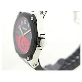 Autre Marque-NEW MARANELLO V WATCH8 41 MM QUARTZ STEEL AND BLACK RUBBER STEEL WATCH-Black