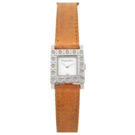 Christian Dior-CHRISTIAN DIOR LA PARISIENNE D WATCH60-109 19MM STEEL QUARTZ STEEL WATCH-Silvery