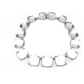 Baccarat-BACCARAT MEDICIS NECKLACE 42 CM CRYSTAL 249.3 GR + CRYSTAL NECKLACE BOX-Other