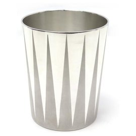 Hermès-PUIFORCAT CUP GLASS FOR HERMES 9x7 CM IN SILVER PLATED GLASS-Silvery