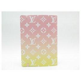 Louis Vuitton-NEW NOTEBOOK LOUIS VUITTON CLEMENCE CANVAS MONOGRAM GRADIENT GI0619 NEW NOTEBOOK-Pink