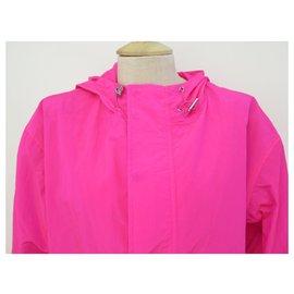 Zadig & Voltaire-NEW ZADIG & VOLTAIRE JACKET KAKILA S PARKA 36 PINK FLUO WATERPROOF TRENCH COAT-Pink