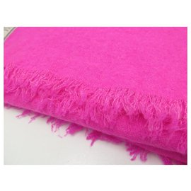Zadig & Voltaire-NEW ZADIG & VOLTAIRE ORELY WGAM SCARF0802F STOLE FLUO PINK NEW SCARF-Pink