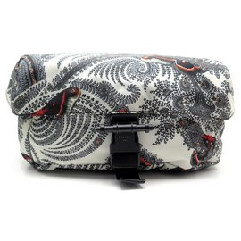 Givenchy-NEW BJ GIVENCHY PAISLEY BAG05753346 BANANA BANDOULIERE BAG-White