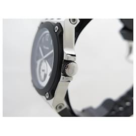 Autre Marque-NEW MARANELLO V WATCH8 40 MM QUARTZ STEEL AND BLACK RUBBER STEEL WATCH-Black
