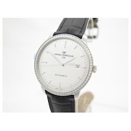 Girard Perregaux-NEW GIRARD PERREGAUX WATCH 1966 49555 AUTOMATIC DIAMONDS WATCH BOX-Silvery