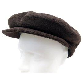 Autre Marque-NEW MOTSCH CAP FOR HERMES 58 NEW CASHMERE CAP BROWN CASHMERE-Brown