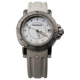 Montblanc-WHITE WATCH-White