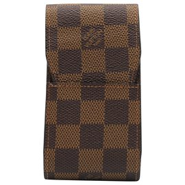 Louis Vuitton-TABACCO HOLDER-Brown