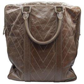 Louis Vuitton-SAC A MAIN SOANA KANGUROO-Marron