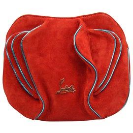 Christian Louboutin-APPLE CROSBODY BAG-Red
