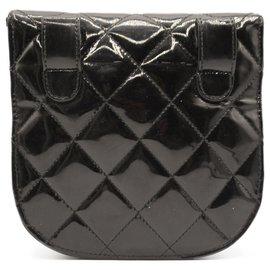Chanel-Chanel Patent Beltbag-Black