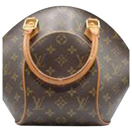 Louis Vuitton-Ellipse Handbag-Brown