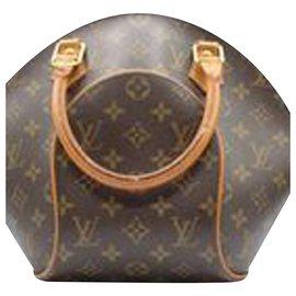 Louis Vuitton-Sac à main Ellipse-Marron