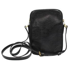Louis Vuitton-CUIR EPI DANUBE-Noir
