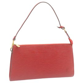 Louis Vuitton-Louis Vuitton Pochette Accessoires-Rouge