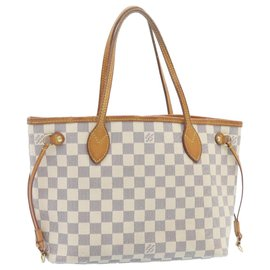 Louis Vuitton-Louis Vuitton Neverfull-Blanc