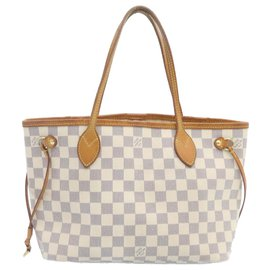 Louis Vuitton-Louis Vuitton Neverfull-White