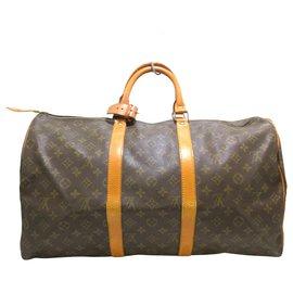 Louis Vuitton-Louis Vuitton Keepall 50-Brown