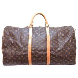 Louis Vuitton-Louis Vuitton Keepall 60-Brown