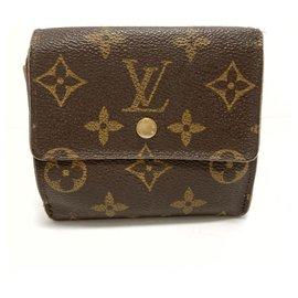 Louis Vuitton-Louis Vuitton Porte-monnaie-Marron