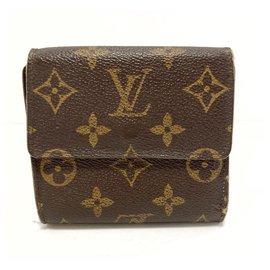 Louis Vuitton-Louis Vuitton Porte-monnaie-Brown