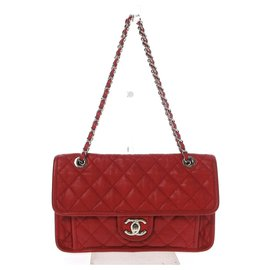 Chanel-Chanel Classic Flap-Red