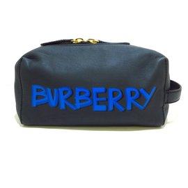 Burberry-Burberry clutch bag-Blue