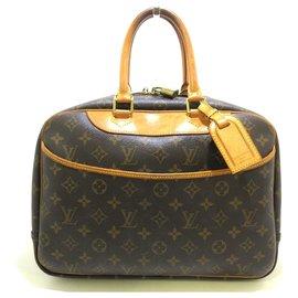 Louis Vuitton-Louis Vuitton Bowling Vanity-Brown