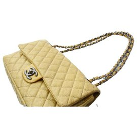 Chanel-Chanel Timeless-Yellow