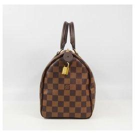 Louis Vuitton-Louis Vuitton Speedy 25 Sac à main femme N41532 marron-Marron