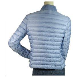 Moncler-Coats, Outerwear-Light blue