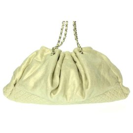 Chanel-Chanel tote bag-Cream