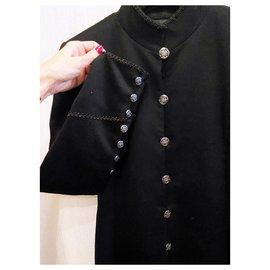 Chanel-8K$ Paris-Shanghai coat-Black