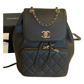 Chanel-Very rare Chanel backpack-Black