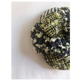 Chanel-Pins & brooches-Green,Navy blue
