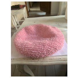 Chanel-Hats-Pink