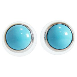 Hermès-Hermès Earring-Blue
