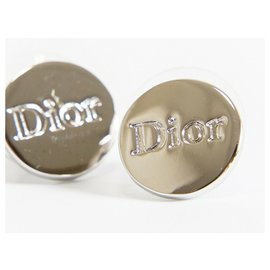 Dior-Boucle d'oreille Dior-Argenté